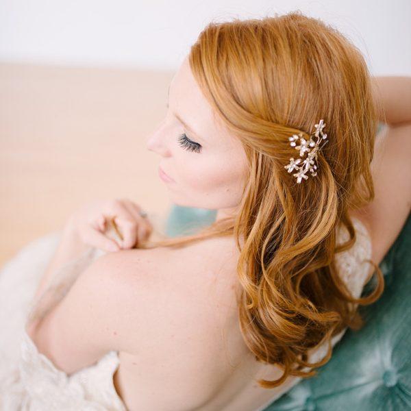 Boudoir Inspired Bridal Fantasy Magazine Feature | Kristilee