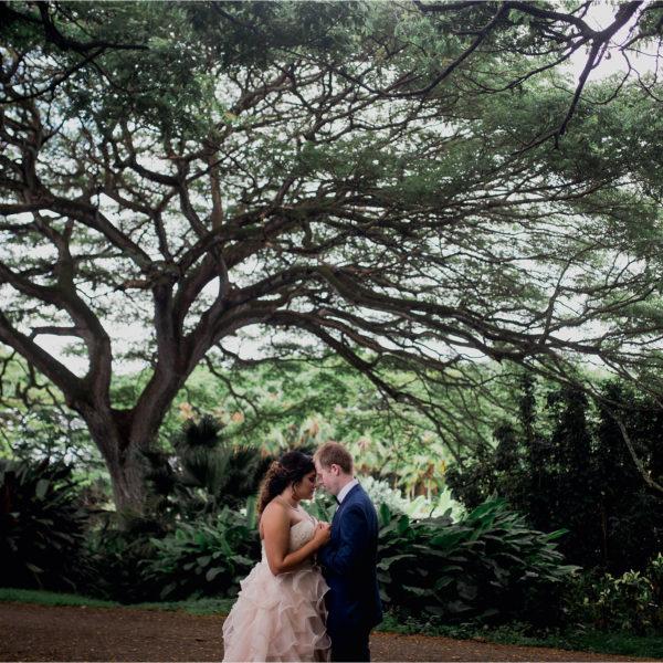 Outdoor Oahu Destination Wedding | Sam + Ben