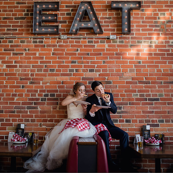 The Parlour Italian Kitchen | Edmonton Wedding | Rebecca and Jason